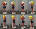 Hollow  Zembillas Tawna Bandicoot Clay Model by Raquel-Porkbelly