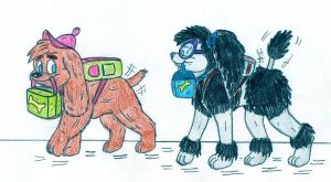 Dog Timmy and Tootie - School by Jose-Ramiro