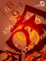 colored numbers by razangraphics