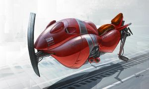 Red Speeder by ATArts