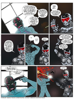 Crysis 2 Comic by FLAMINGPINECONE