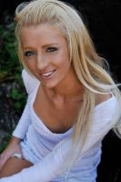 Kristy - white top 1 by wildplaces