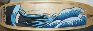 Surfboard Commission by Kaiazes
