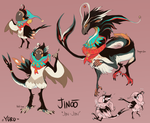 Jinoo MYO Birdfolk Entry by Yuroboros