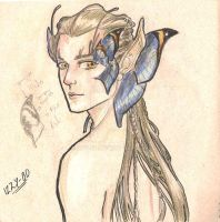 Faery Male Study by IZZY-BD