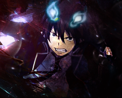 Ao no Exorcist by RbToy