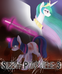 Silent Ponyville 3 Cover by LoneWolfKait