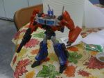 Transformers Prime FE Voyager Optimus Prime by Septimus-Prime