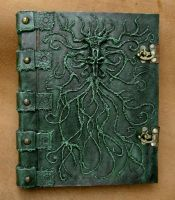 Necronomicon Book of the Stygian Path by MrZarono