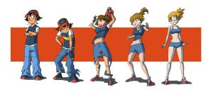 ash into misty by TheDarkShadow1990