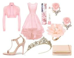 Pink Prom Perfection by AnnabelleChristine19