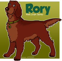 Glee Dogs :: Rory by srspibble