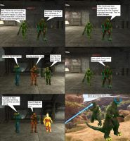 Halo Comic Sharquoi Invasion by dracostarcloud