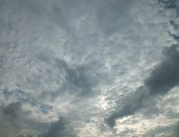 Cloudy sky - 01A by HermitCrabStock