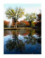 Yoyogi Reflection III by cerenimo