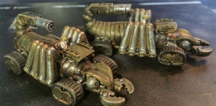 15mm Meerkats: 'Scorpion' Fast-Attack Vehicles by Spielorjh