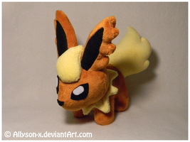 Flareon Mini-Minky Plush by Allyson-x