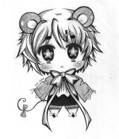 CHIBI mouse by AnimexL0ver17