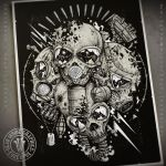 Cannon Fodder by DeadInsideGraphics