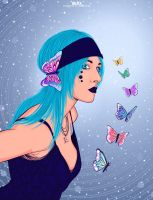The Butterfly by Ferlac