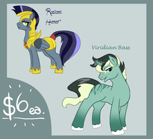 $6 Paypal Pony Adopts - CLOSED - by YummyPonies