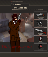 TF2 Loadout - Spah James by Jared-Sol