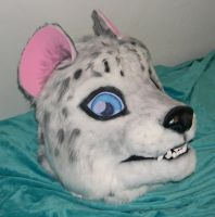 Snow leopard head commission by Bladespark