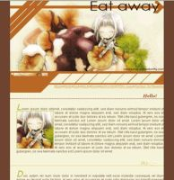 Eat Away Layout by realmofheaven