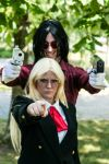 Hellsing Ultimate Photoshoot by NekoChaaan