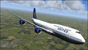 747-8I United Airlines by agnott