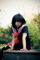 Misaki Mei 4 - fanfic uniform version from ANOTHER by psycomeh