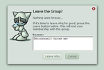 Reason Area for Leaving Group by izafer