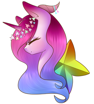Rainbow Stars by PudinDess