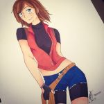 Natalia As Claire (Request) by KayleeRedfield
