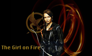 The Girl on Fire wallpaper by mewpearl