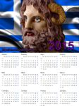 Calendar for 2015 Zeus Ammon by PirraAiren
