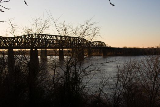 Train Bridge by Katiemarie