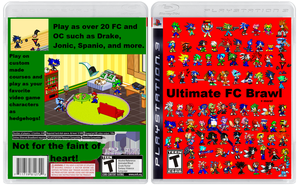 Ultimate FC Brawl + more PS3 by Spaniothehedgehog