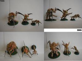 My Tyranid army color patteren by Fantasy-Visions