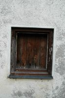Old boarded up window by BlokkStox