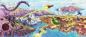 AE Invertebrate World by LEXLOTHOR