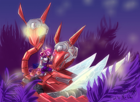 In the Fortuna Jungle by Noe-Izumi by Cosmic-Phoenyx