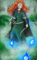 Brave: Merida by HollyAReid