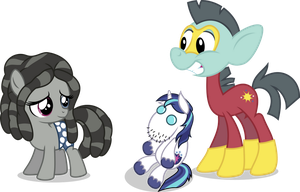 Smarty and Brutus by punzil504