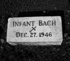 Infant Bach by crazylemolwreck