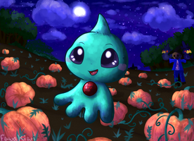 Night at the pumpkin patch [1st place] by KiwiBeagle