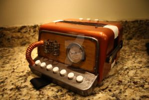 Steampunk Accordion by MelloReflections