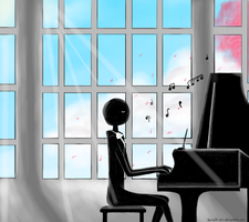 Deemo - The One and The Piano by BaisePrinsu