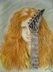Mr. Mustaine by the-ChooK