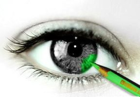 Green eye by klausjr